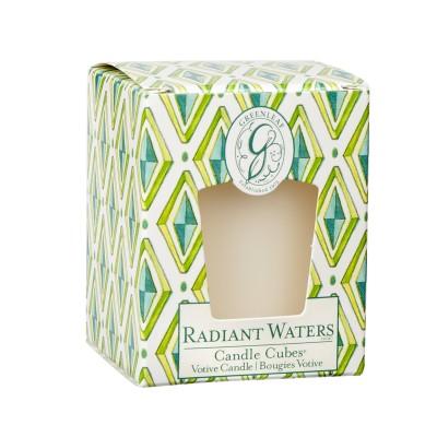 Свеча-Кубик Родниковый Источник (Radiant Waters) Greenleaf