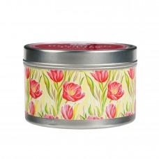 Свеча в табакерке Цветущие Тюльпаны (Blushing Tulips)