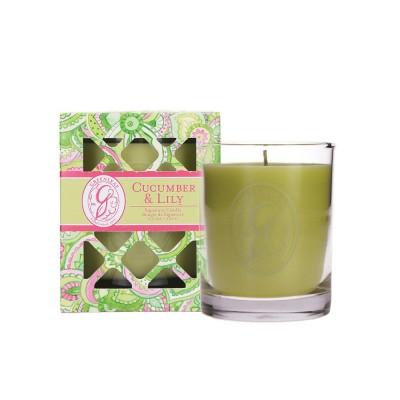Свеча в стекле Огурец и Лилия (Cucumber Lily) Greenleaf