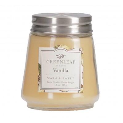 Свеча миниатюрная Ваниль (Vanilla) Greenleaf