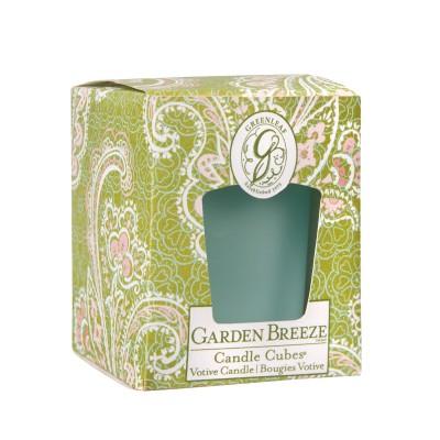Свеча-Кубик Запах Сада (Garden Breeze) Greenleaf