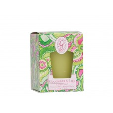 Свеча-Кубик Огурец и Лилия (Cucumber Lily)