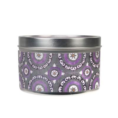 Свеча в табакерке Винтажная Фиалка (Vintage Violet) Greenleaf
