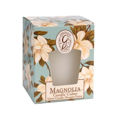 Свеча-Кубик Магнолия (Magnolia) Greenleaf