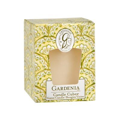 Свеча-Кубик Гардения (Gardenia) Greenleaf