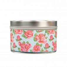 Свеча в табакерке Розы (Roses)