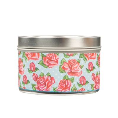 Свеча в табакерке Розы (Roses) Greenleaf