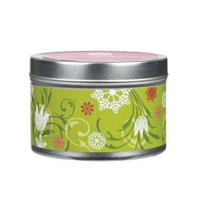 Свеча в табакерке Подснежники (Snow Flowers) Greenleaf