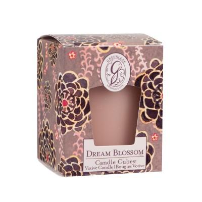 Свеча-Кубик Мечтающий Цветок (Dream Blossom) Greenleaf