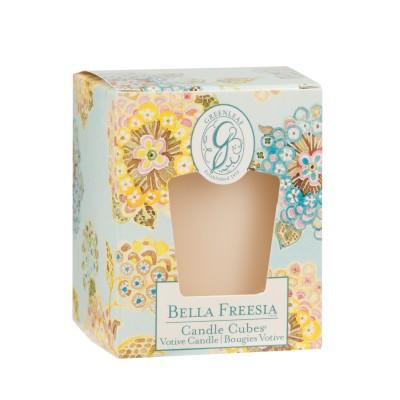 Свеча-Кубик Белла Фрезия (Bella Freesia) Greenleaf