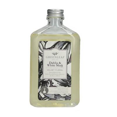 Масло для аромадиффузоров Далия и Белый Мускус (Dahlia White Musk) Greenleaf