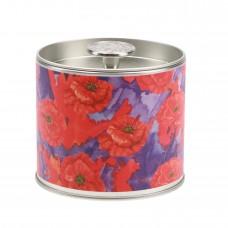 Свеча в табакерке Цветной Мак (Painted Poppy)