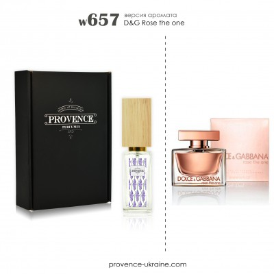 Масляные духи D&G Rose the one (w657)