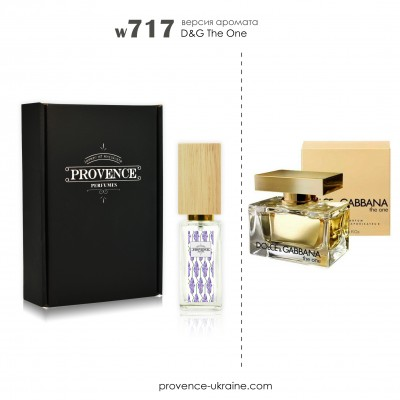 Масляные духи D&G The One woman (w717)