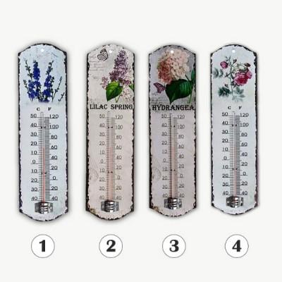 Термометр Цветы Прованса метал.