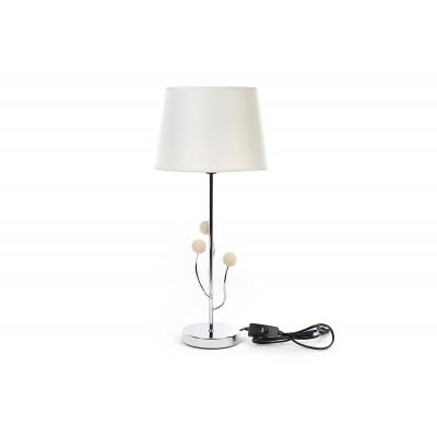 Лампа настольная Naturel, с декором шарики, 52см.