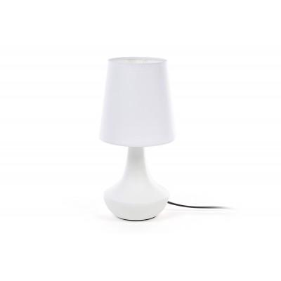 Лампа настольная Naturel, белая, 29см.