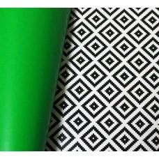 Бумага упаковочная Орнамент/зеленая (однотонная) БЕСПЛАТНО