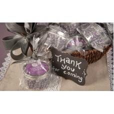 Свеча в табакерке Винтажная Фиалка (Vintage Violet)