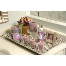Свеча-Кубик Винтажная Фиалка (Vintage Violet)