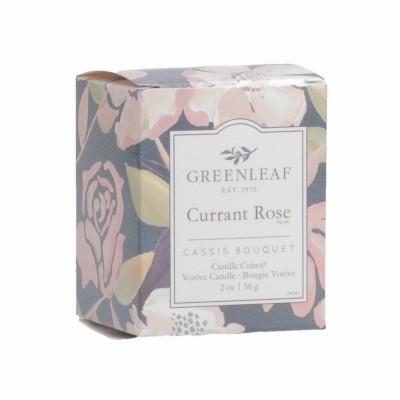 Свеча-Кубик Смородиновая Роза (Currant Rose) Greenleaf