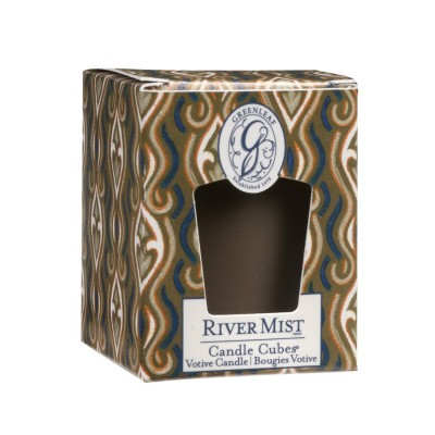 Свеча-Кубик Речная Фантазия (River Mist) Greenleaf