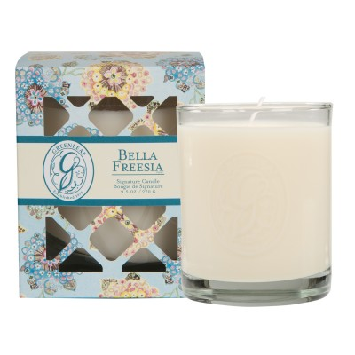 Свеча в стекле Белла Фрезия (Bella Freesia) Greenleaf