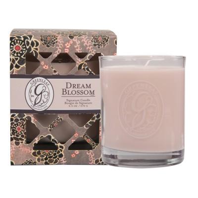 Свеча в стекле Мечтающий Цветок (Dream Blossom) Greenleaf