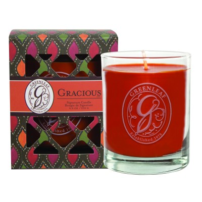 Свеча в стекле Грация (Gracious) Greenleaf
