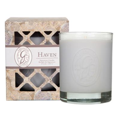 Свеча в стекле Морская Гавань (Haven) Greenleaf