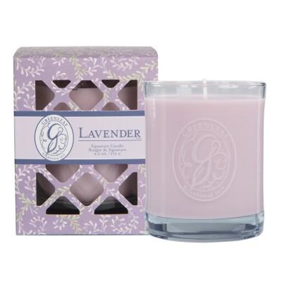 Свеча в стекле Лаванда (Lavender) Greenleaf