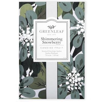 Саше Большое Мерцающий Снежник (Shimmering Showberry) Greenleaf